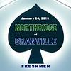 Freshmen - Northridge High School Vikings at Granville High School Blue Aces - Thursday, January 24, 2019