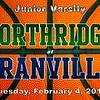 Junior Varsity - Northridge High School Vikings at Granville High School Blue Aces - Tuesday, February 2, 2014