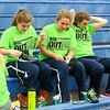 Pregame Warm-Ups - Junior Varsity Basketball - Northridge High School Vikings at Granville High School Blue Aces - Box Out Lyme Disease Game - Friday, January 15, 2016
