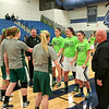 Team Captains - Junior Varsity Basketball - Northridge High School Vikings at Granville High School Blue Aces - Box Out Lyme Disease Game - Friday, January 15, 2016