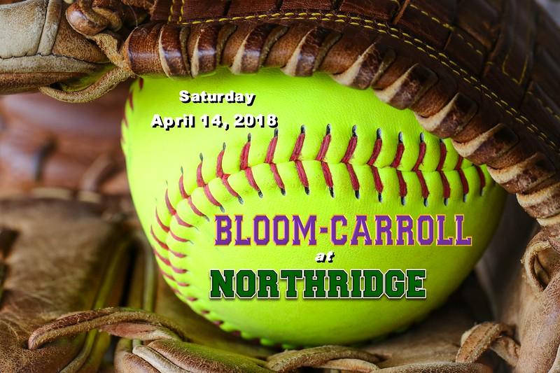 Bloom-Carroll High School Bulldogs at Northridge High School Vikings  - Saturday, April 14, 2018