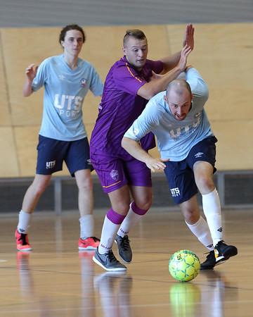 2018 0120 - FNSW PL Futsal R11 UTS NFC vs Quake