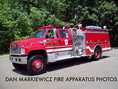 FOREST HILLS FIRE CO. FORMER ENGINE 161 1991 CHEVY/KME PUMPER