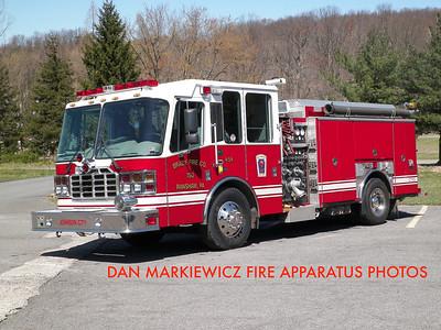 BRADY FIRE CO. RANSHAW ENGINE 151 2001 FERRARA PUMPER