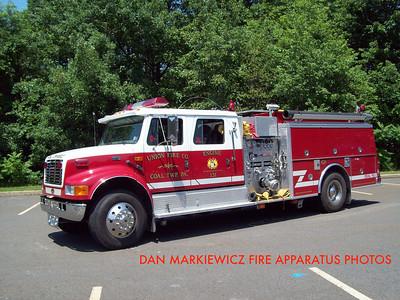 UNION FIRE CO. ENGINE 131 1999 INTERNATIONAL/KME PUMPER