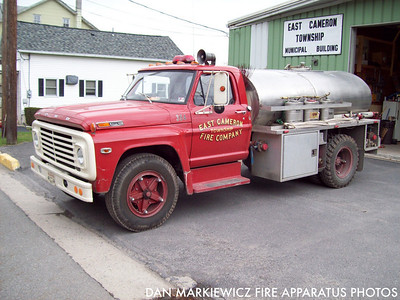 EAST CAMERON TWP. FIRE CO. TANKER 354 1972 FORD/ECFC BRUSH TANKER