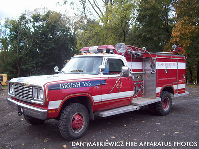 EAST CAMERON TWP. FIRE CO. BRUSH 355 1974 DODGE/SAULSBURY MINI PUMPER