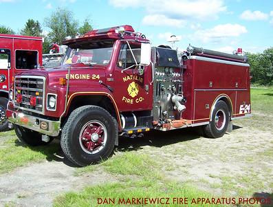 NATALIE FIRE CO. FORMER ENGINE 24 1989 INTERNATIONAL/KME PUMPER