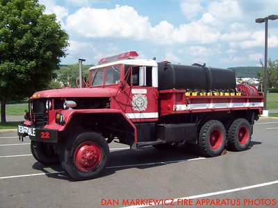 BEAVERDALE FIRE CO. BRUSH 22 1975 AM GENERAL BRUSH TRUCK