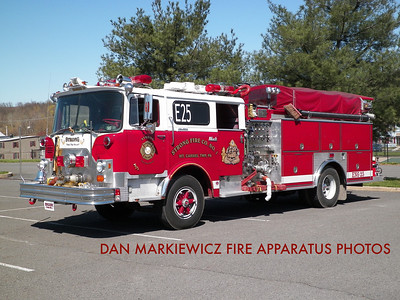 STRONG FIRE CO. ENGINE 25 1974 MACK/RSI PUMPER