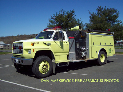 LOCUST GAP FIRE CO. X-ENGINE 23 1989 FORD/KME PUMPER