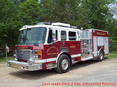 AMERICAN HOSE CO. ENGINE 1 2010 AMERICAN LA FRANCE PUMPER