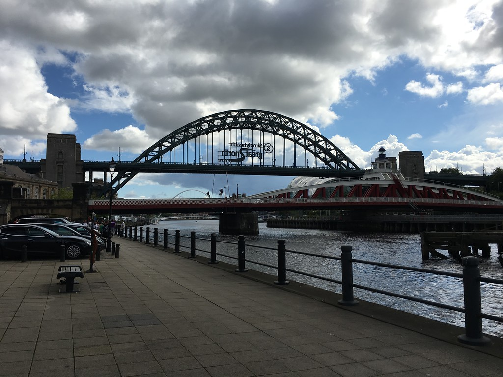 By the Tyne in Newcastle