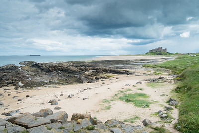 Bamburgh Sands and Castle