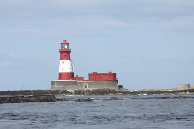 Lighthouse at the Farne Islands