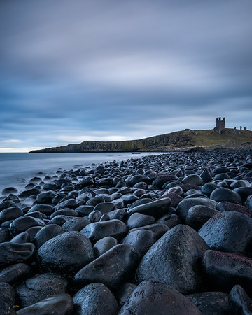 Black Rocks and Dunstanburgh Castle