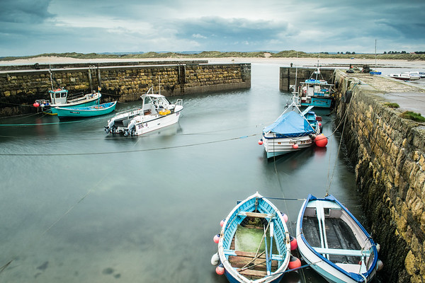 Beadnell Harbour, Northumberland