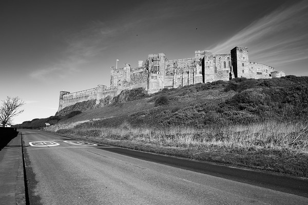 The Road To Bamburgh Castle