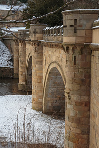 Bridge across River Aln, Alnwick
