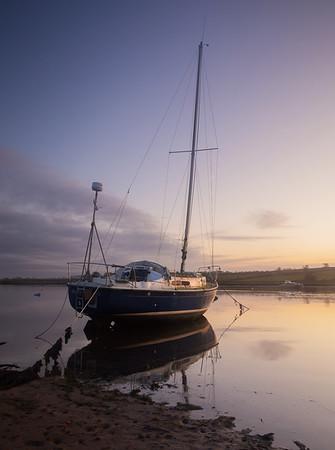 Sailing Boat, Alnmouth
