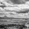 Tide Out - Lindisfarne Castle
