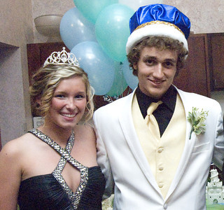 Line Mountain's prom queen is Chelsea Lahr, 18, daughter of Marla and Dale Lahr of Leck Kill. Prom king is Tyler Bonawitz, 18, son of Mindy and Todd Bonawitz of Trevorton. The prom was celebrate Saturday at Front Street Station in Northumberland.