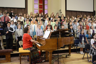 Northumberland Christian School students put on their Spring Program on Friday morning.