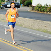 Michael Espinosa, of Lewisburg, placed first in the TaTa Trot with a time of 15:20.80 on Saturday morning in Sunbury.