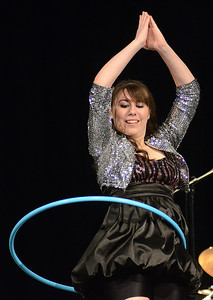 "Brandy Vasey of Lewisburg preforms ""Showing Off"" during the annual The Valley's Got Talent contest Thursday night Aug. 16, 2012 at Shikellamy High School."