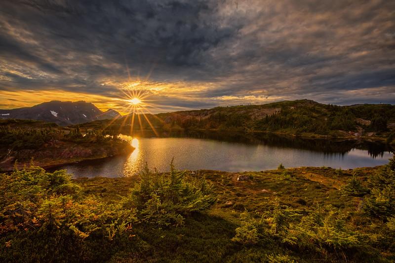 Trapper Mountain Lake