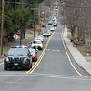 Teachers and staff from the Northwest Elementary School in Leominster had a car parade throughout some of the city. The parade makes it way down Highland Avenue. SENTINEL & ENTERPRISE/JOHN LOVE