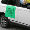 Teachers and staff from the Northwest Elementary School in Leominster had a car parade throughout some of the city. some cars in the parade had signs. SENTINEL & ENTERPRISE/JOHN LOVE
