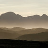 Suilven above layers of Assynt