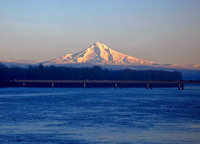 Mt Hood - 205 Bridge