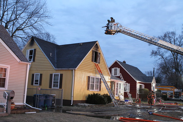 Highland Indiana Working Fire 8735 Highland St
