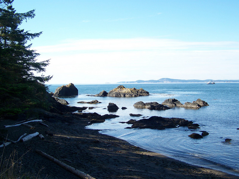 Bowman Bay at Deception Pass State Park.