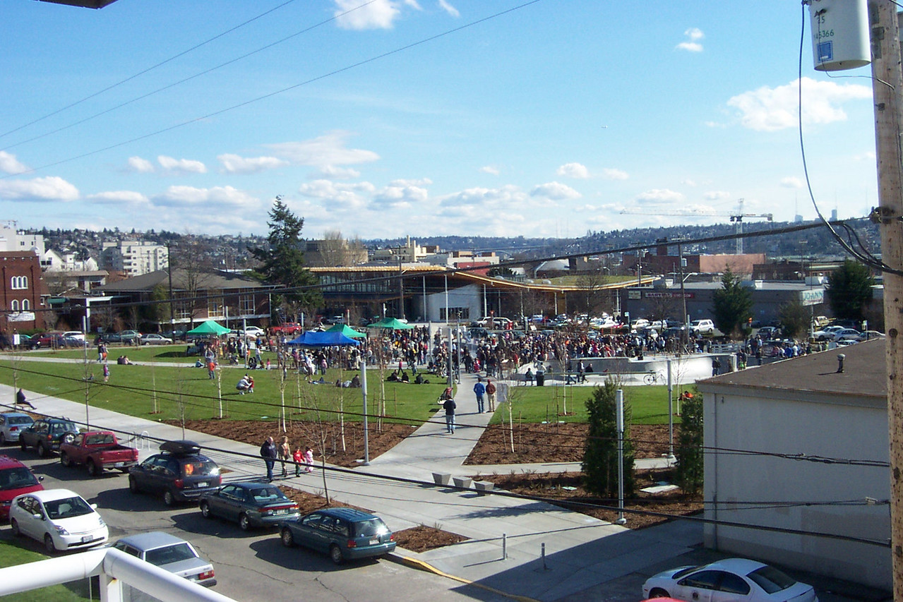March 4, 2006.  Dedication of Ballard Commons Park.