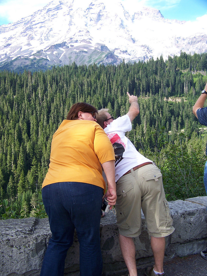"""And that's """"the end"""" of the Mount Rainier portion of the trip!  :-)"""
