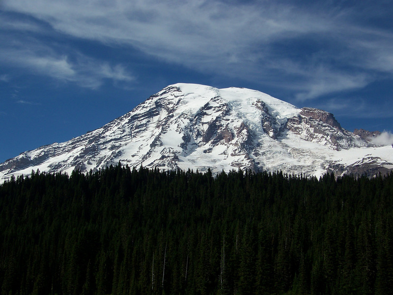 We definitely felt Mom's presence this day!<br /> [Mount Rainier]