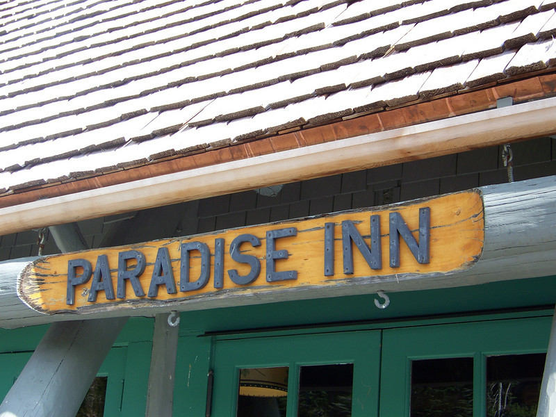 Next we drove over to the Paradise Inn.