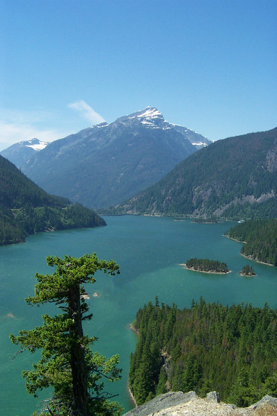 Diablo Lake in North Cascades National Park.  It's such a beautiful area!