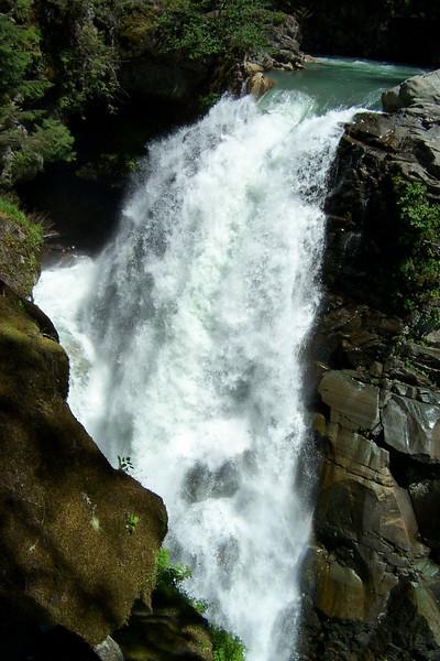 Nooksack Falls near Mount Baker.