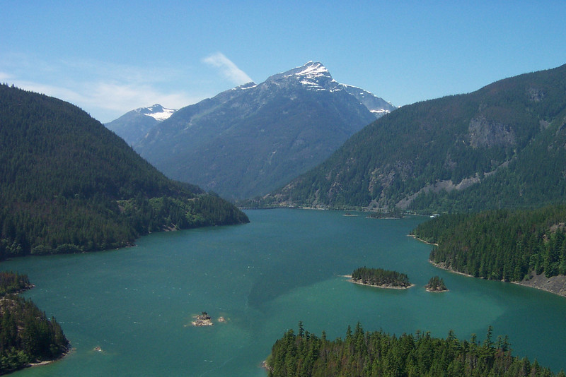 Diablo Lake in North Cascades National Park.