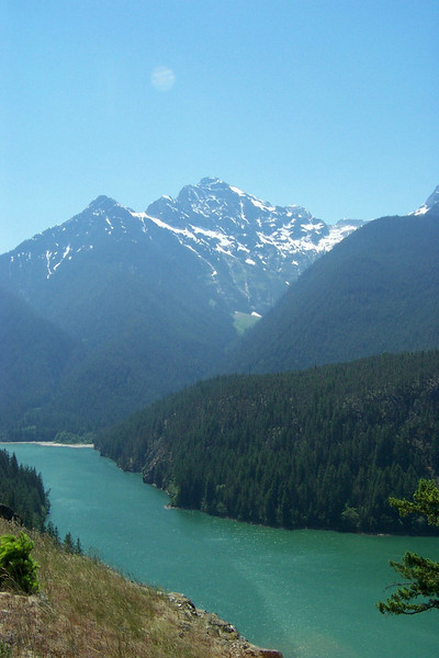 Another arm of Diablo Lake in North Cascades National Park.