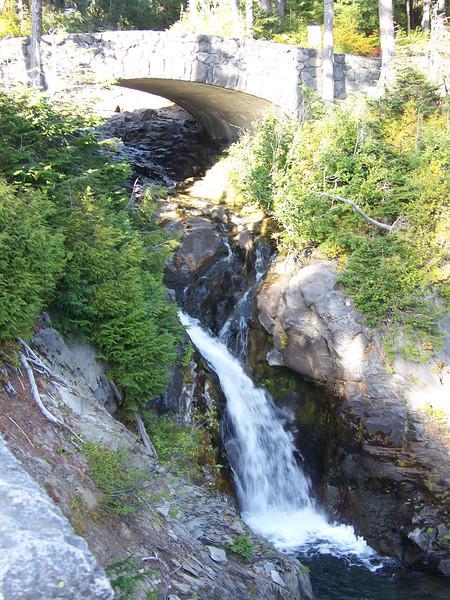 The Paradise River just upstream of Narada Falls.<br /> [Mount Rainier]