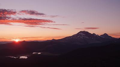 Cascade Sunset from Mt. Bachelor