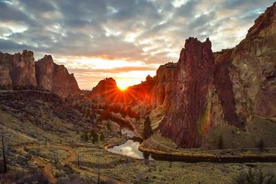 Smith Rock Sunset