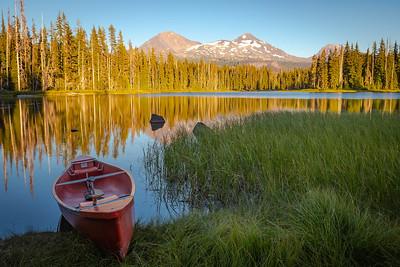 Scott Lake Boat 1