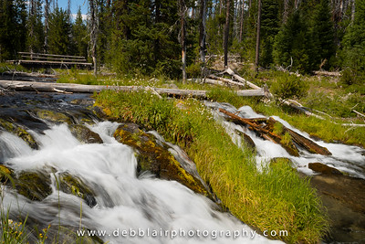 Falls at Hosmer Lake
