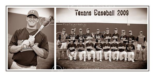 Texans baseball - varsity